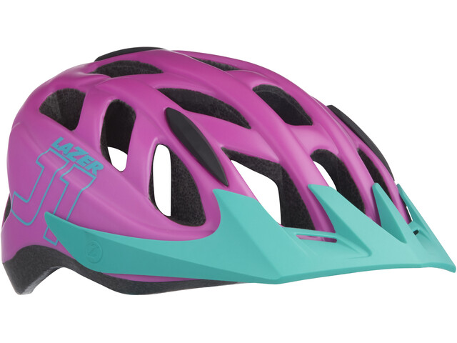 Lazer J1 Helmet Juniors purple-turquoise